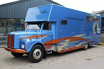 1969 Scania L80 Super Paardentransporter