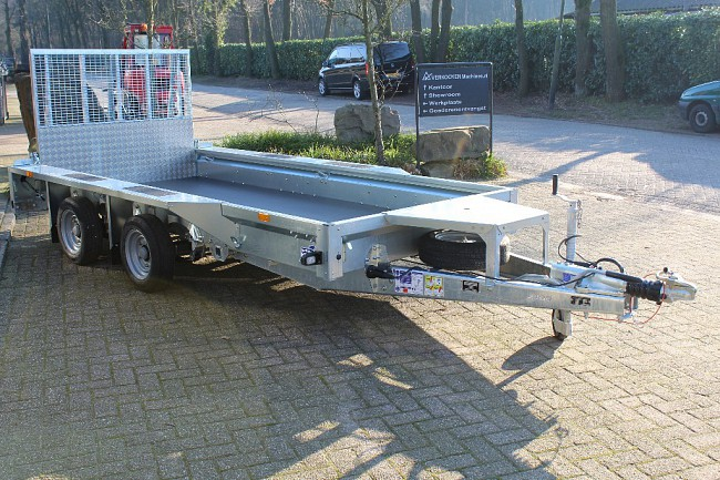 2018 Ifor Williams GX125HD  Oprijklep