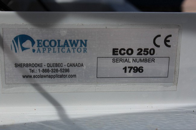 2018 Ecolawn Top Dresser Eco 250