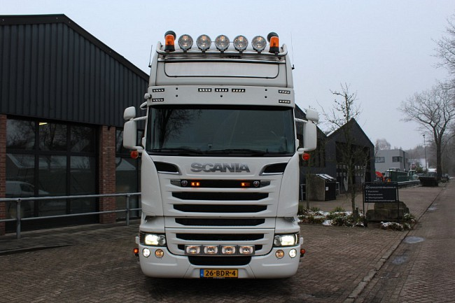 2014 Scania R 520 V8   4x2  King off the Road