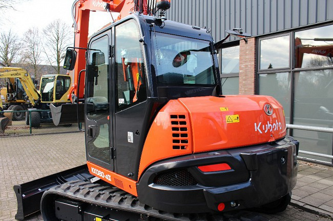 2019 Kubota KX080-4 Alpha 2PC